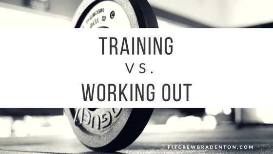 train or workout