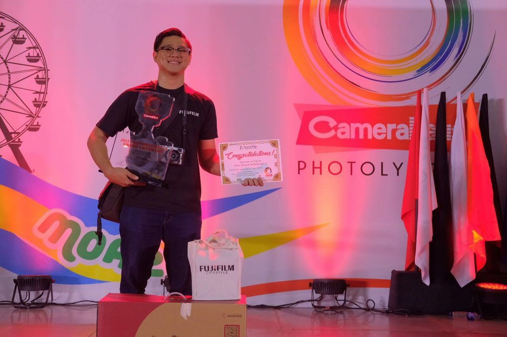 The Winning Photographer, Edison Tuazon