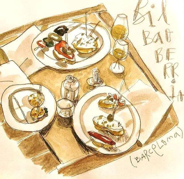 Queremos enseñaros esta ilustración tan chula que realizó el artista @raulcuencaalonso a nuestro Bilbao Berria de #Barcelona 🎨👨🎨 ¿Qué os parece? * * #GrupoBilbaoBerria #BilbaoBerria #Restaurantes #RestaurantesBCN #BarcelonaRestaurants #Gastronomía #ExperienciasGastronómicas #Arte #Ilustración #Sketch #UrbanSketchers