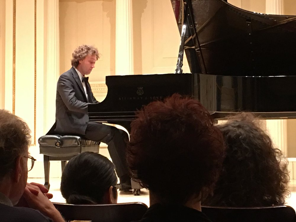 """…Mr. Ulasiuk's performance delivered an outstanding expression of finesse, lightness, charm, technical mastery, and depth of understanding of style that is quite exceptional. He is undoubtedly one of the finest musicians I have heard…"" – Nina Drath, President, Fryderyck Chopin Society of Texas, Inc."