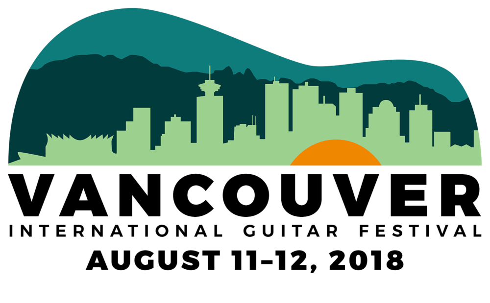 Poster for 2018 Vancouver International Guitar Festival