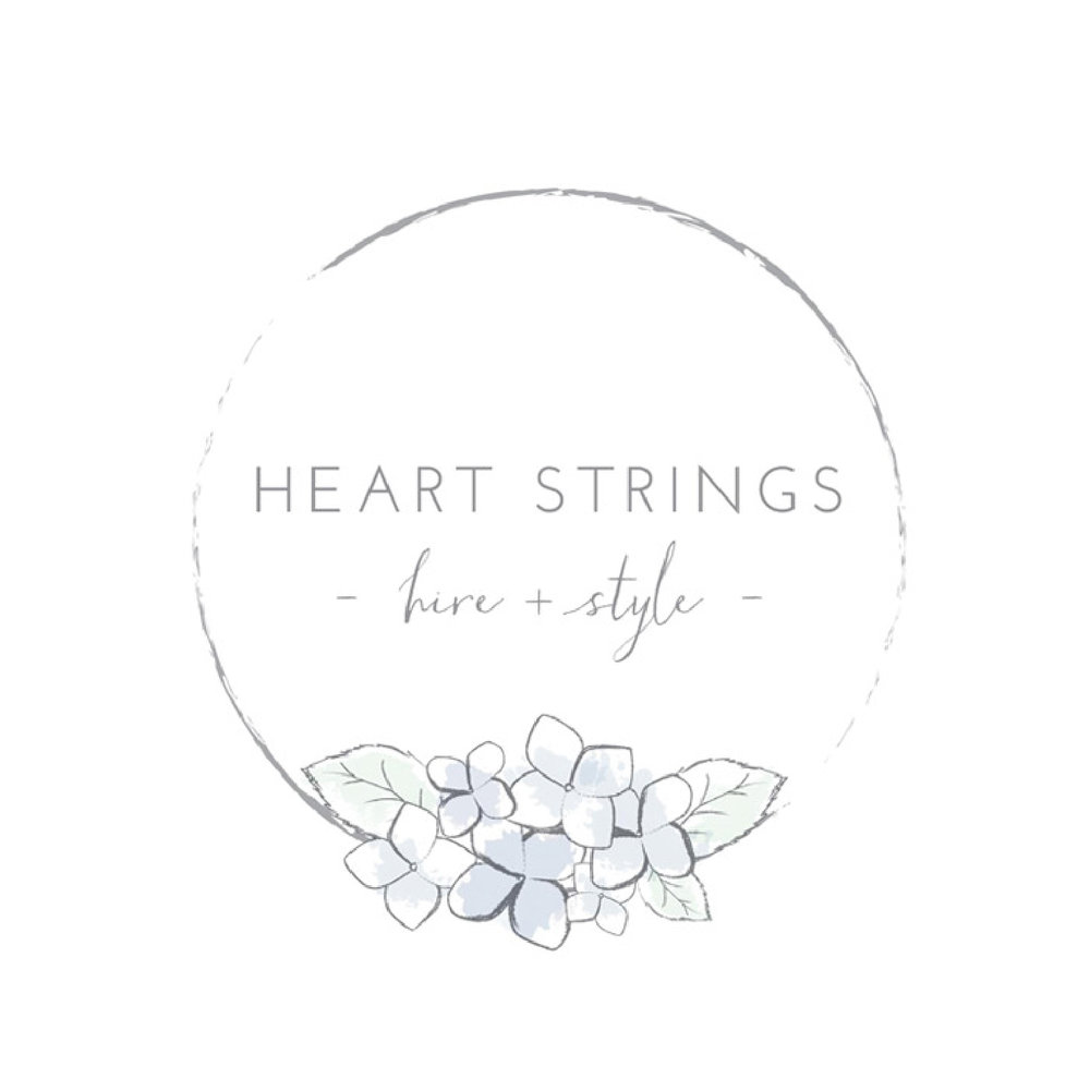 HEART STRINGS HIRE + STYLE   Heart strings are a husband and wife team, two of the nicest and genuine people I know. Brent is a perfectionist and always sets up my weddings perfectly. Never rushes anything. Their products are beautifully kept and pricing is fantastic. Nothing is ever too hard for Sarah. Even when I am emailing her late at night. When things have been altered last minute with setups, nothing is an issue to change/shift.  When I come to them with a new piece that I would love to have made they are always happy to help.