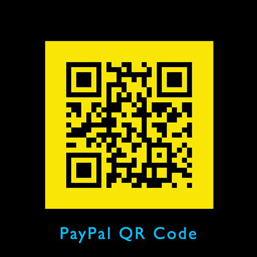 If you feel comfortable using a QR code, this code will take you directly to PayPal. Just scan it with your smartphone. The donation must be under $250 US. If you would like to donate more, see the notes to the right. Thank you!