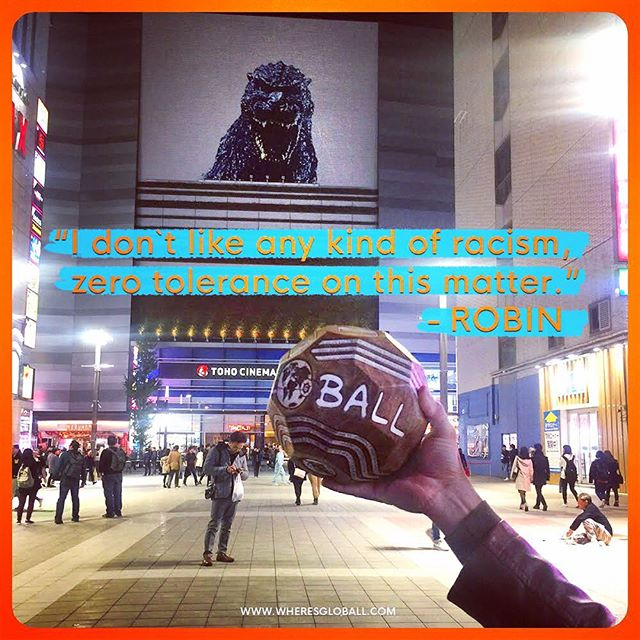 What do you share in common with our GLOBALLers? Read more about all of them at www.wheresgloball.com under GLOBALLers. #wheresgloball #shareadventure #coddiwomple #wanderlust #godzilla #tohostudios #traveller_art #connectivity #againstracism