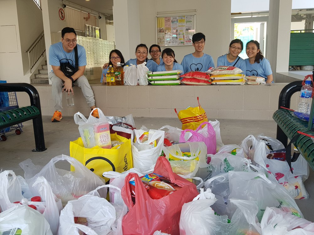 We have benefitted the residents of more than 350 households in Bukit Panjang estate!