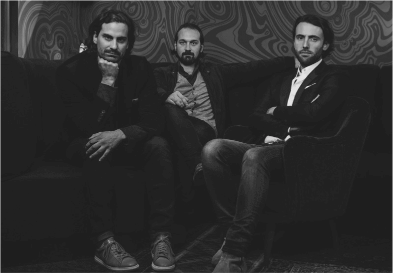 Romée de Goriainoff,   Pierre-Charles Cros, Olivier Bon  Founders & co-CEOs of the Experimental Group / Writing the coolest story in boutique hospitality