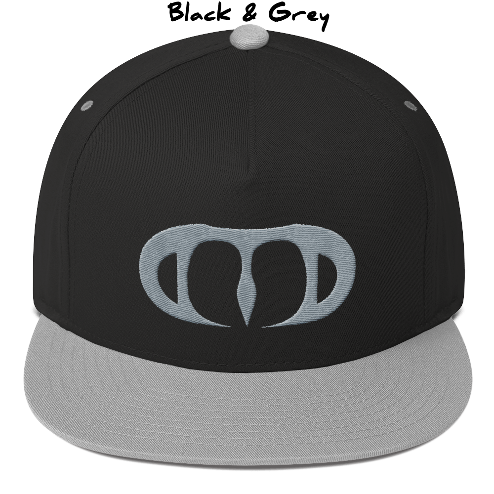 c0f3978490d Dood Gothic Logo 5-Panel Snapback Hat — Dood The Doodle