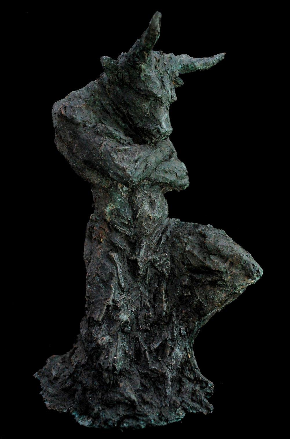 Eve Shepherd - Kneeling Minotaur.JPG