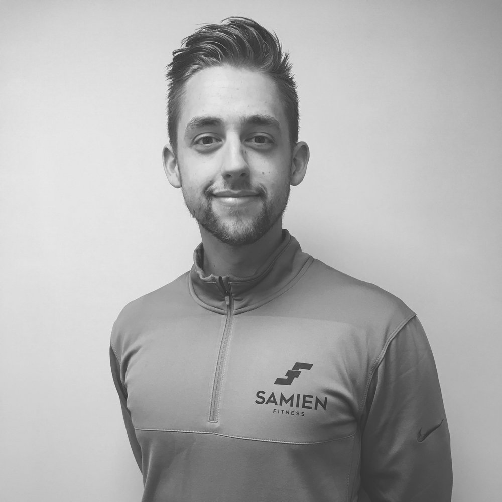 Sam Duckworth - Level 3 Personal TrainerStrength & Conditioning CoachPre & Post NatalGP ReferralMember of the Advanced Coaching AcademyCertificate in Sports & Exercise NutritionCertificate in Understanding Nutrition & Health