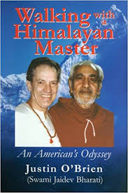 """ Living with a Himalayan Master- Justin O' Brien.  Gives a rare insight into the mind of a Supreme Yogi. Into the power of Sadhana, the gathering of psychic power in order to gain total mastery over the senses, and therefore of this world and beyond.  Swami Rama's power is irrestible, his logic so true, and everything he says about everything can truly help us to have greater control over our minds, our urges so that we may gain the joy and bliss of this very life. Its funny, we are lusting happiness, aren't we?"