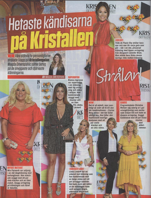Expressen Extra sep Tilde de Paula Kristallgalan 2017