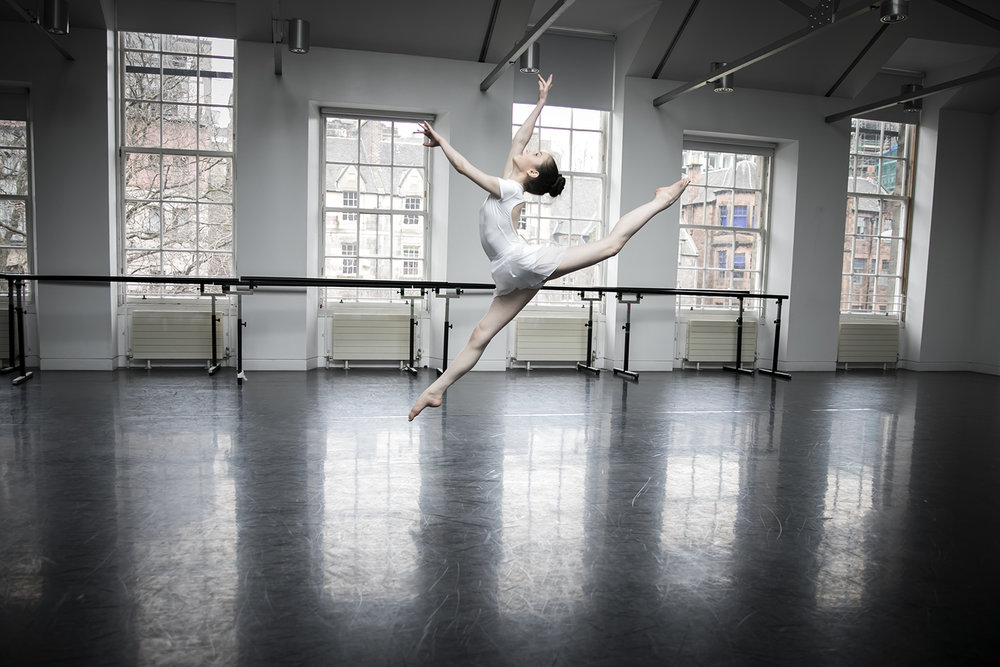 dancer leaping photograph