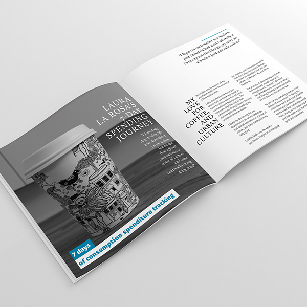 Data depiction: photography, design + layout