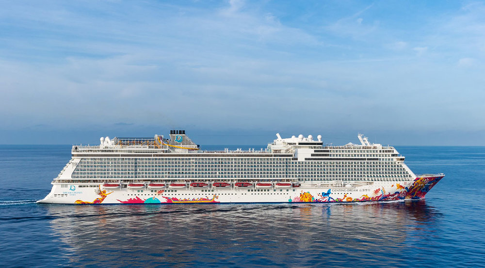 Ships like Genting Dream are riding the Asian wave