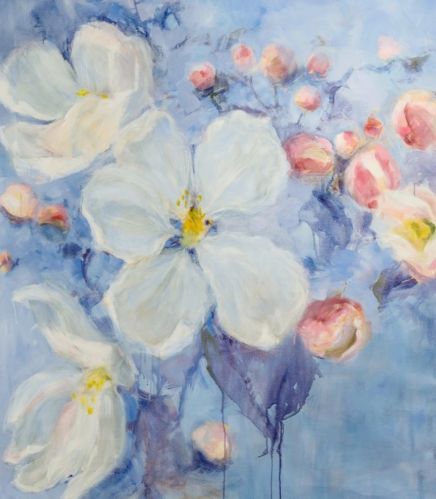 Apple Blossom, 1800€, 150x115 cm