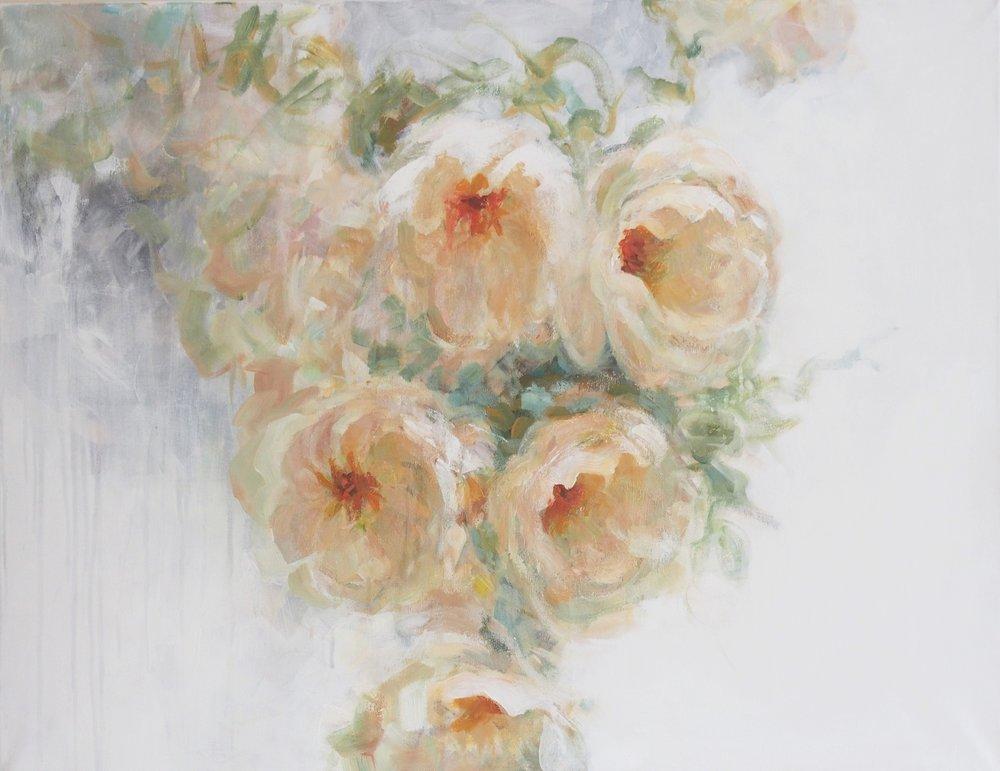 Midsummer Roses, 1200€, 70x90 cm
