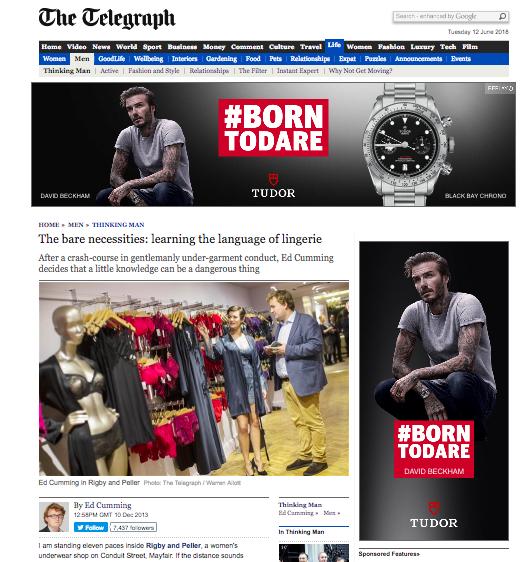 The Telegraph:December 10, 2014