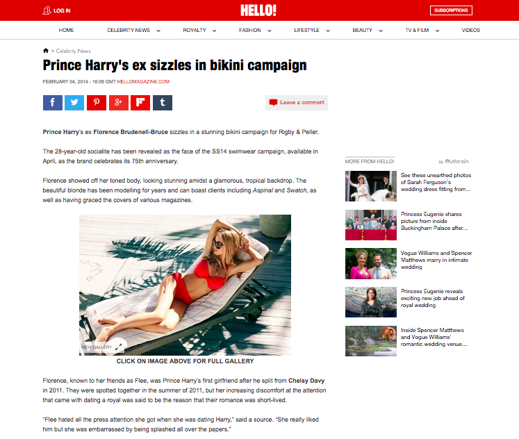 Hello! Magazine:February 04, 2014