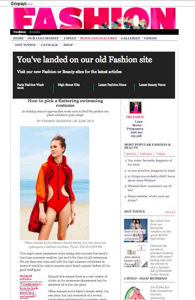 Fashion Telegraph: November 26, 2014