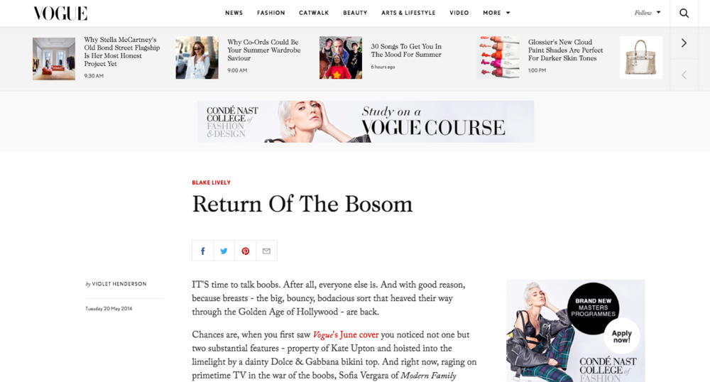 Vogue : May 20, 2014