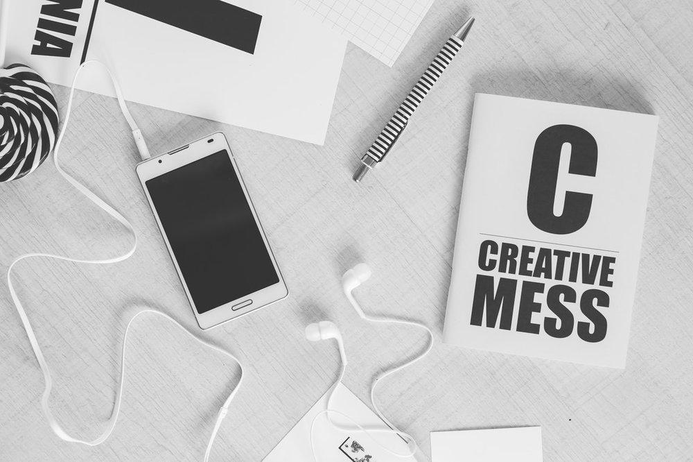 creative mess and myth