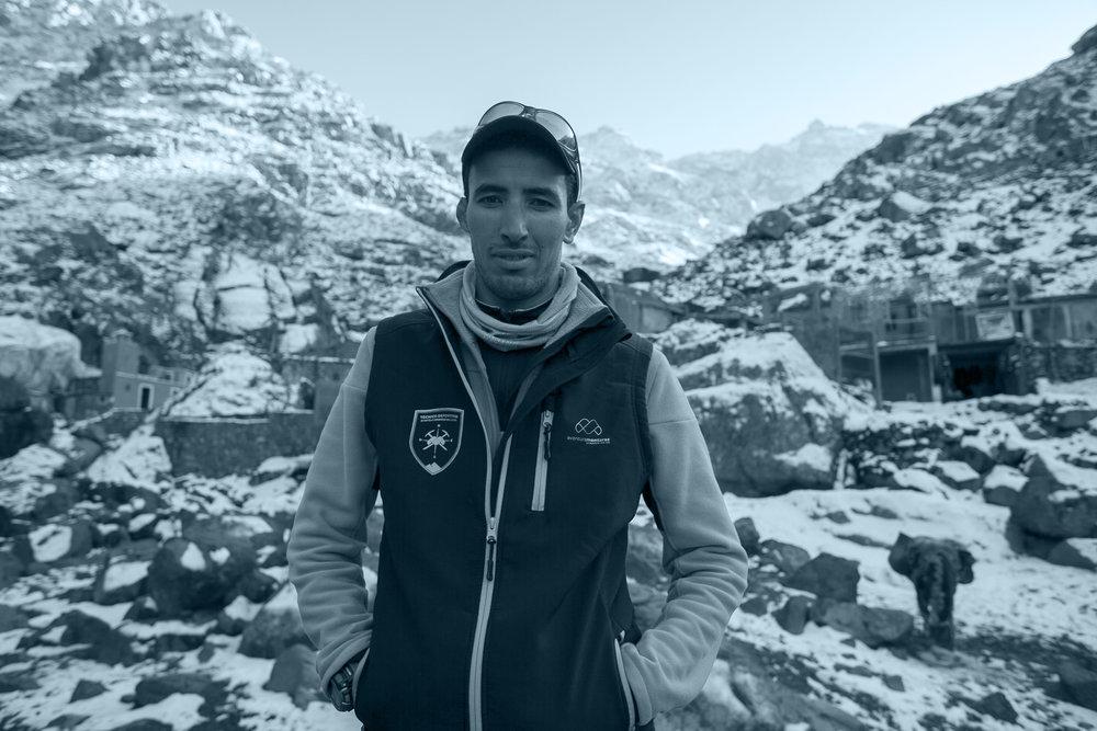 The Climb.  Jebel Toubkal, Morocco.