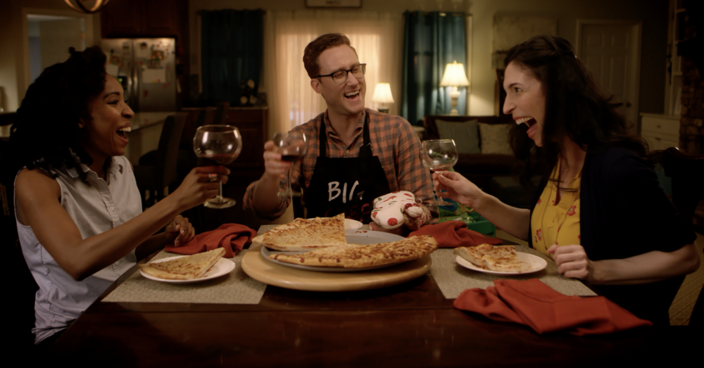 Still from You Wanna Pizza Me?