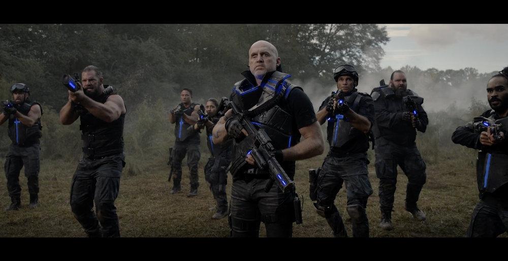 Garrett Warren as Varis in GROBB.
