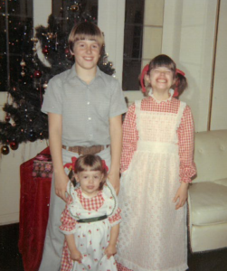 Peter, Helen and Amy