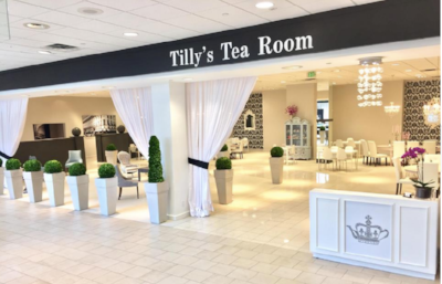 Tilly's Tea Room at the Fashion Mall