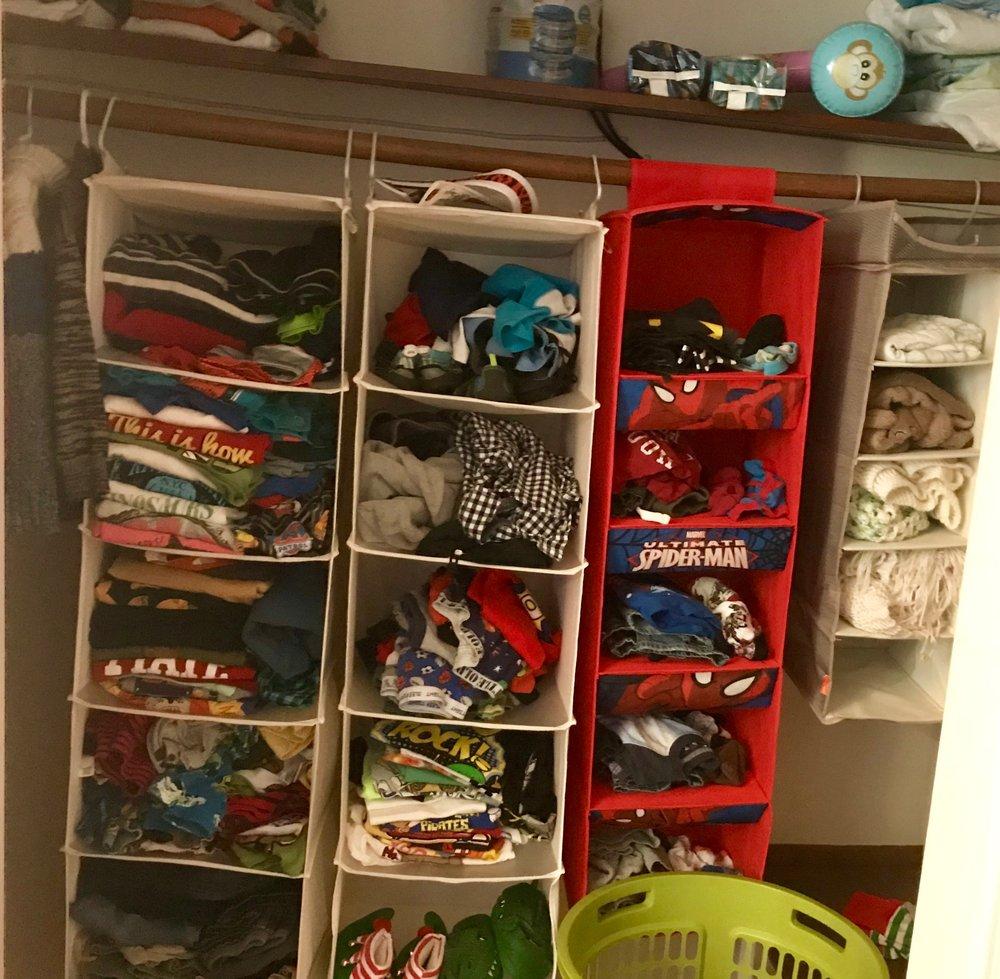 Toddler Closet