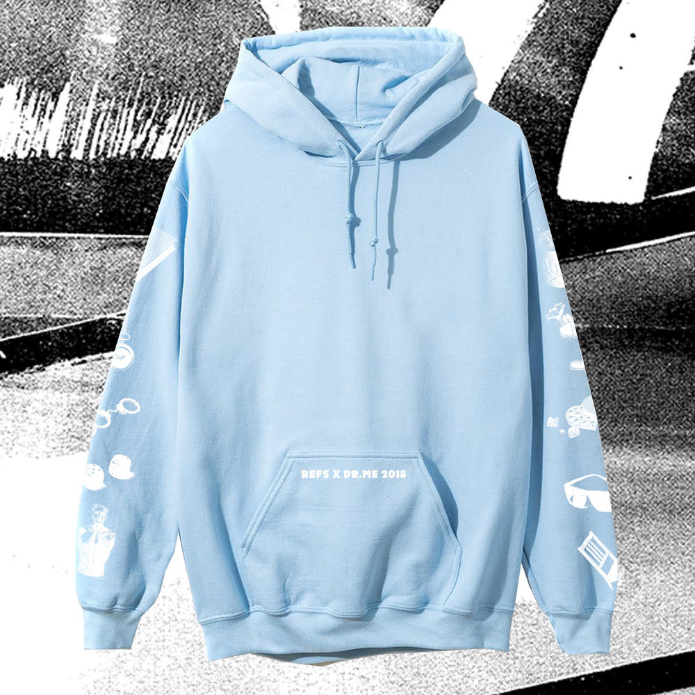 Refs x DR.ME 2018 Hoodie - Buy it here