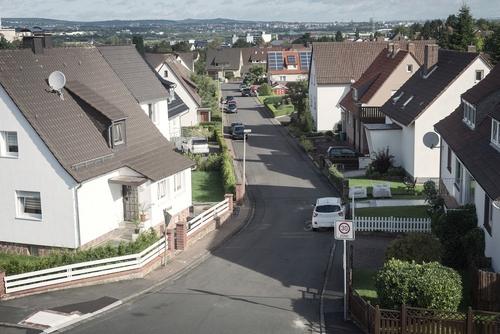Copy of houses in Neston