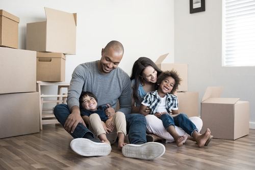 Copy of family moving house