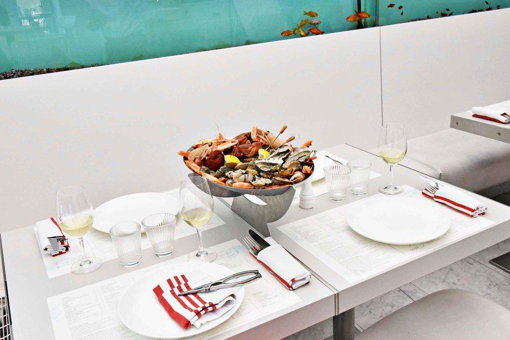new 23 dome sur mer seafood schaal schelp kreeft restaurant bistro antwerpen frederic chabbert michelinstar bart albrecht tablefever.jpg