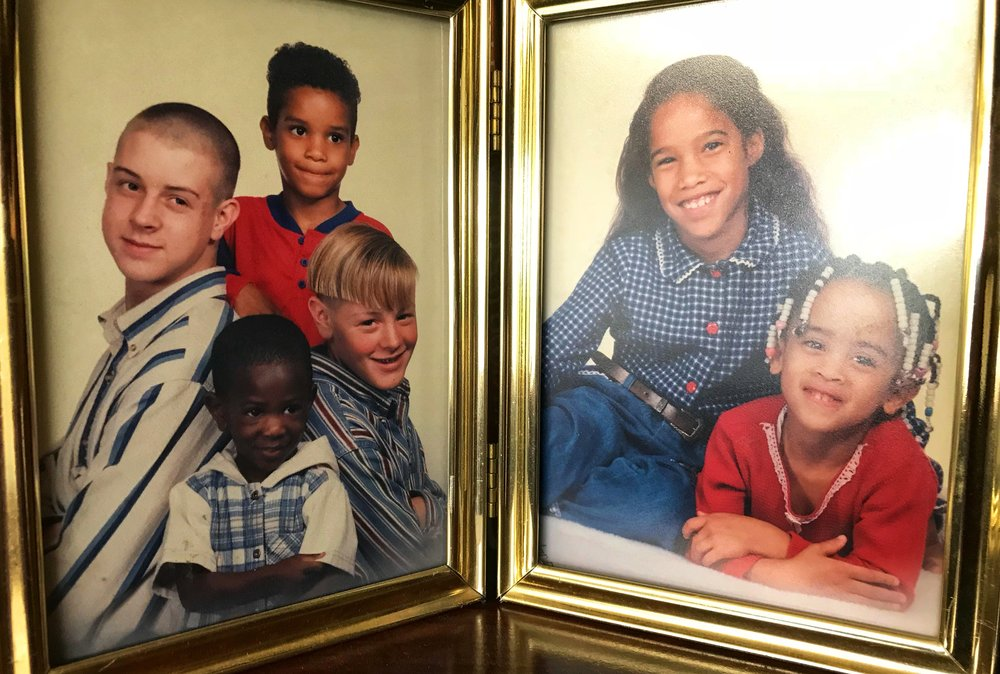 The Smith Kids circa 1994 - Geoffrey, Cameron, Jordan, Douglas, Mery-ly, Emily