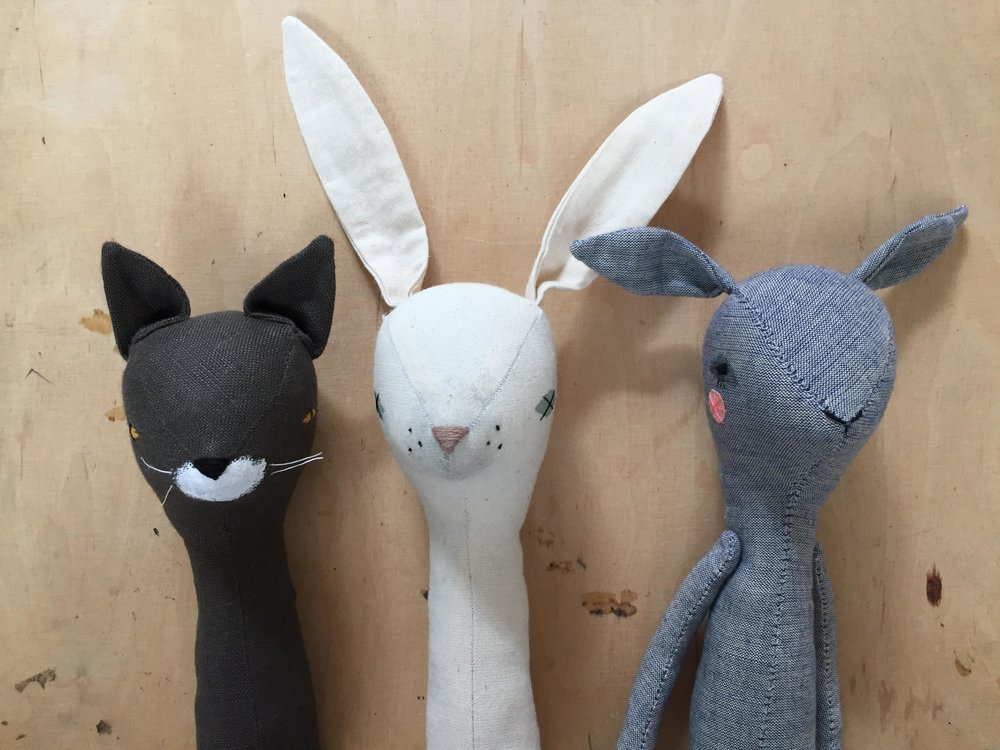 workshops - join Abigail for her new Doll-Making workshop