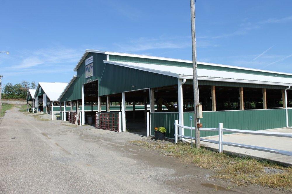 Monroe County Fairgrounds Buildings