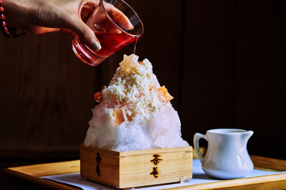 An Avalanche of Japanese Shave Ice -