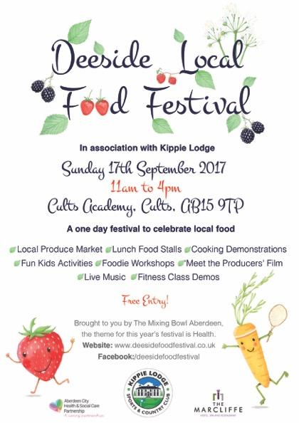 RNCI @ Deeside Food Festival