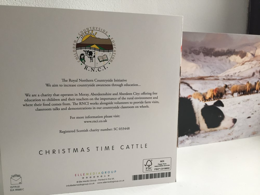 RNCI Christmas Cards — Royal Northern Countryside Initiative
