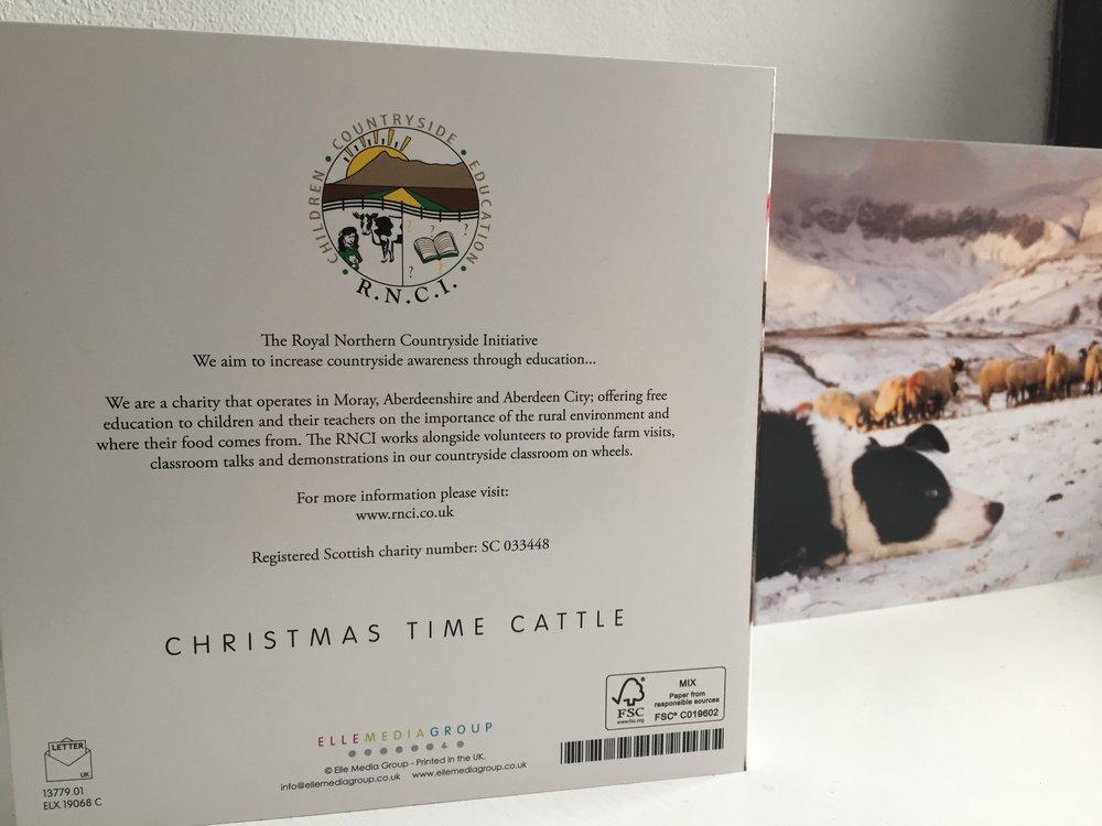 RNCI Christmas Card Farming Charity