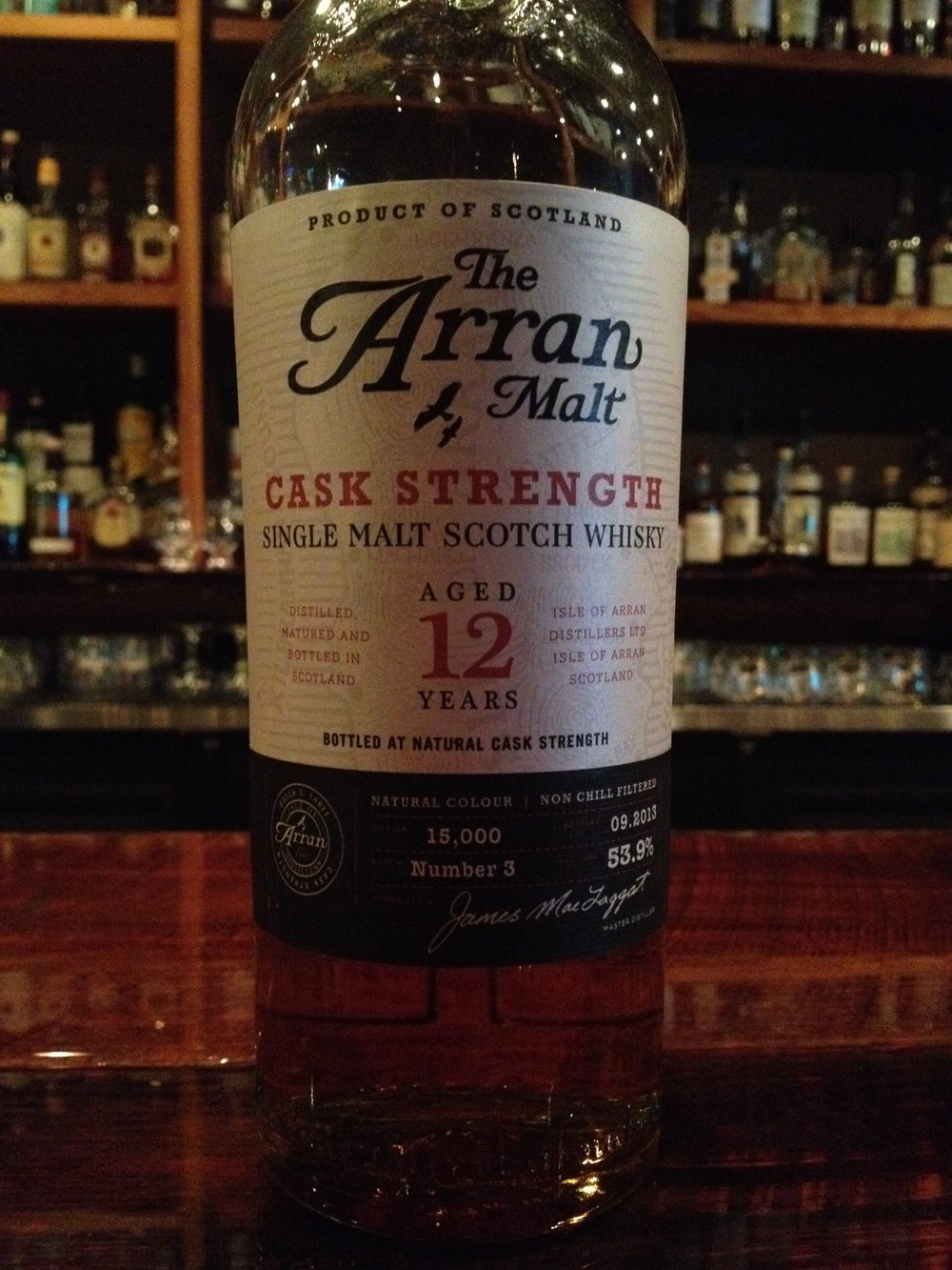 12 Year Old | 53.9% ABV - Distillery | Isle of Arran Distillers