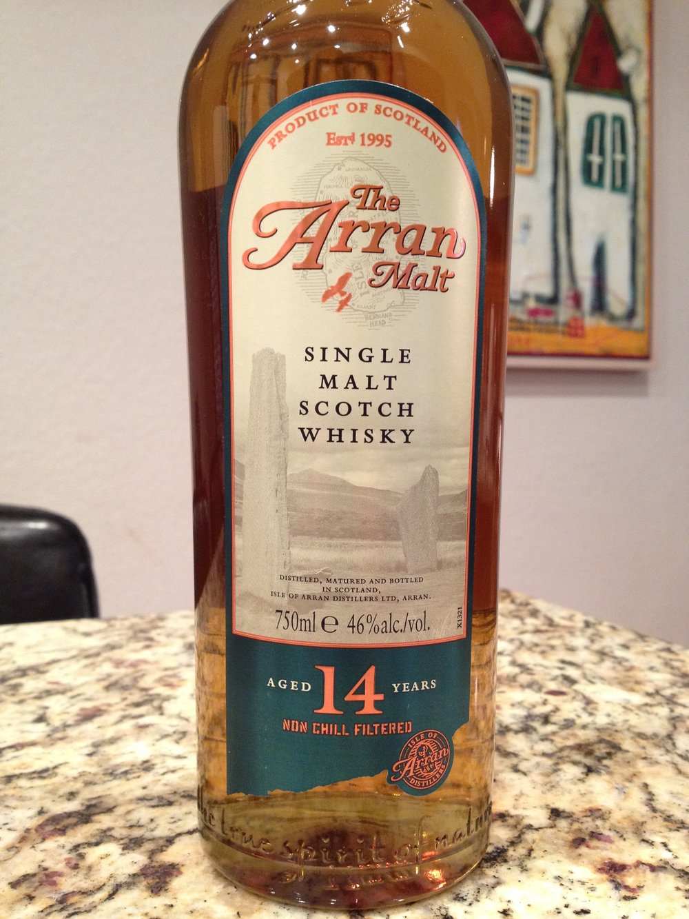 14 Year Old | 46% ABV - Distillery | Isle of Arran Distillers