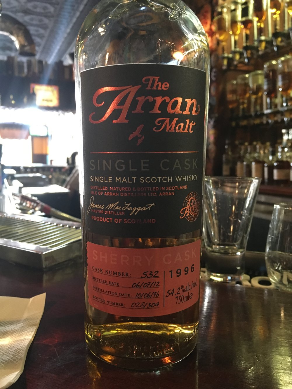 16 Year Old | 54.2% ABV - Distillery | Isle of Arran Distillers