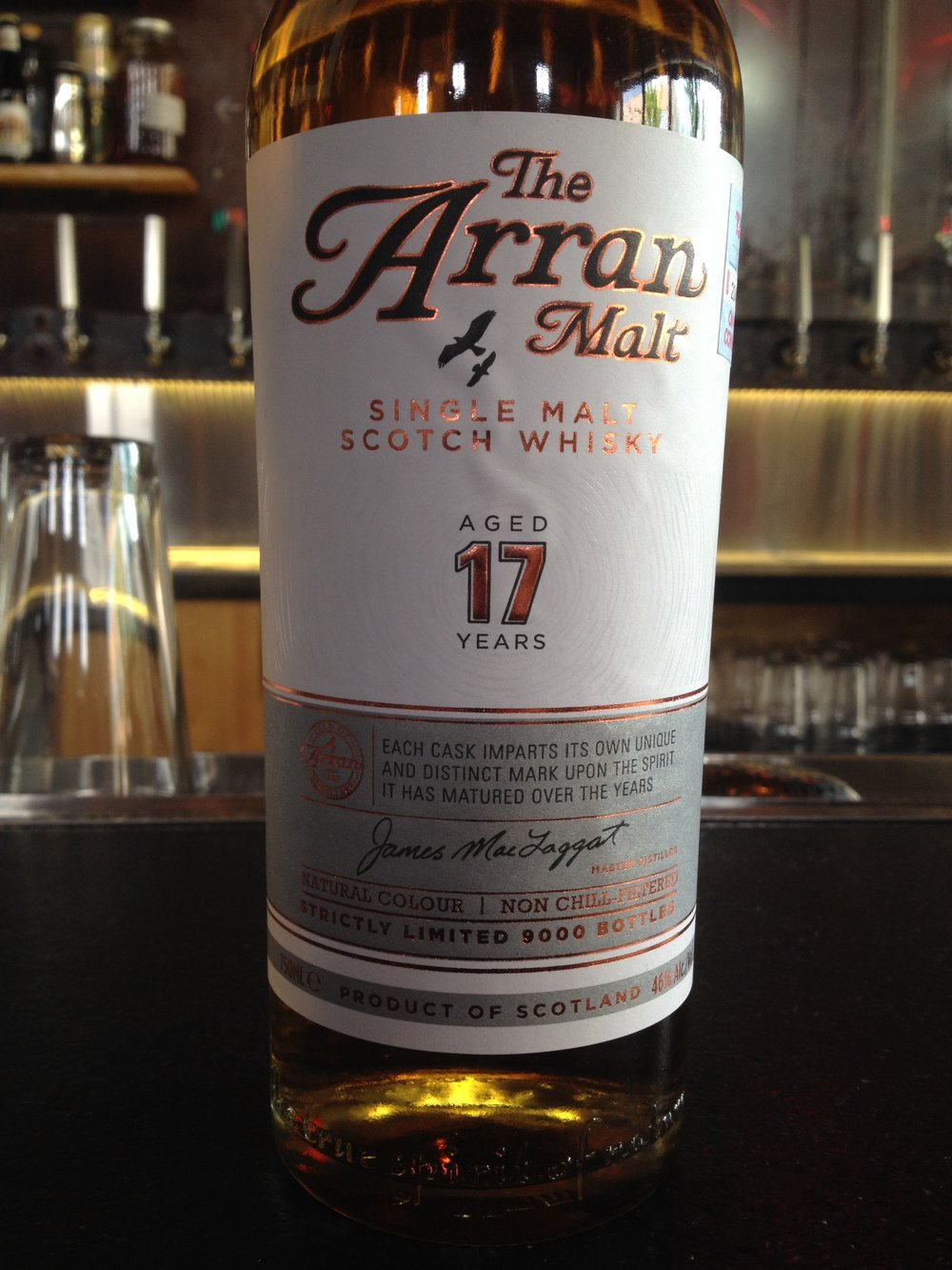 17 Year Old | 46% ABV - Distillery | Isle of Arran Distillers