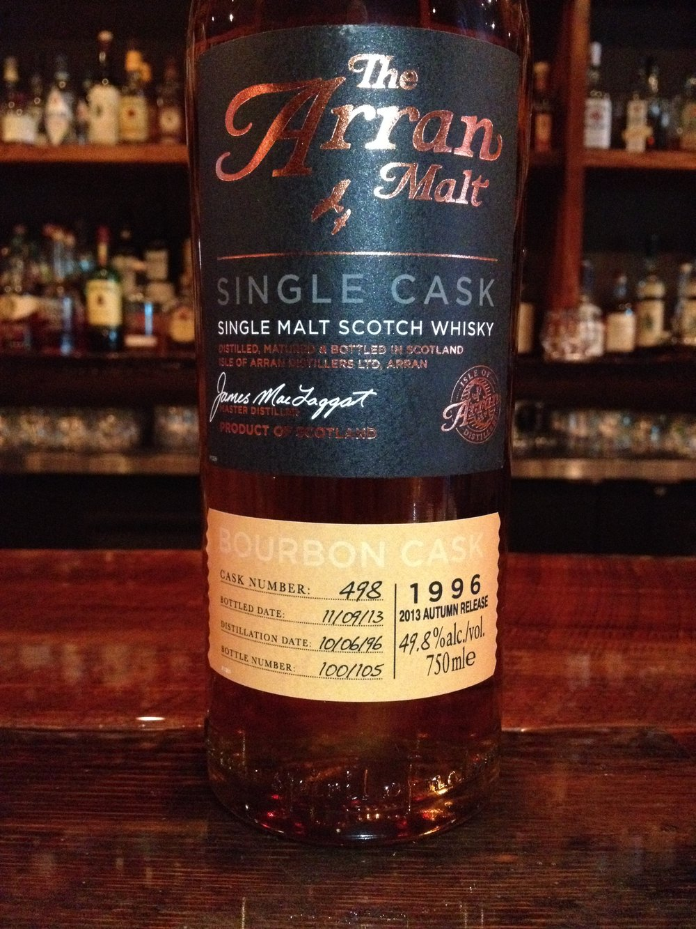17 Year Old | 49.8% ABV - Distillery | Isle of Arran Distillers