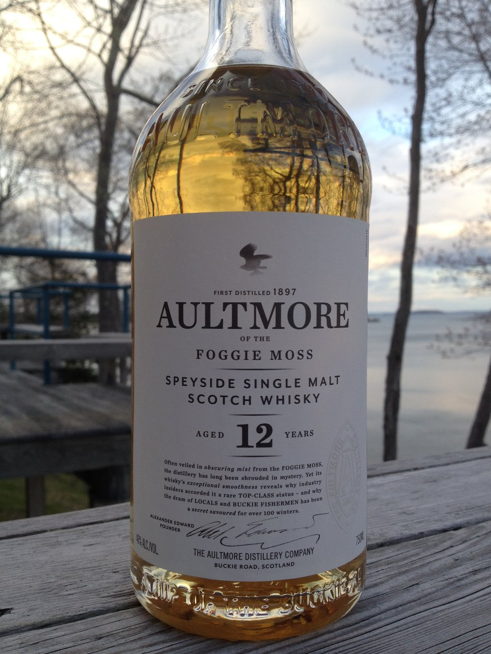 12 Year Old   46% ABV - Distillery   Aultmore