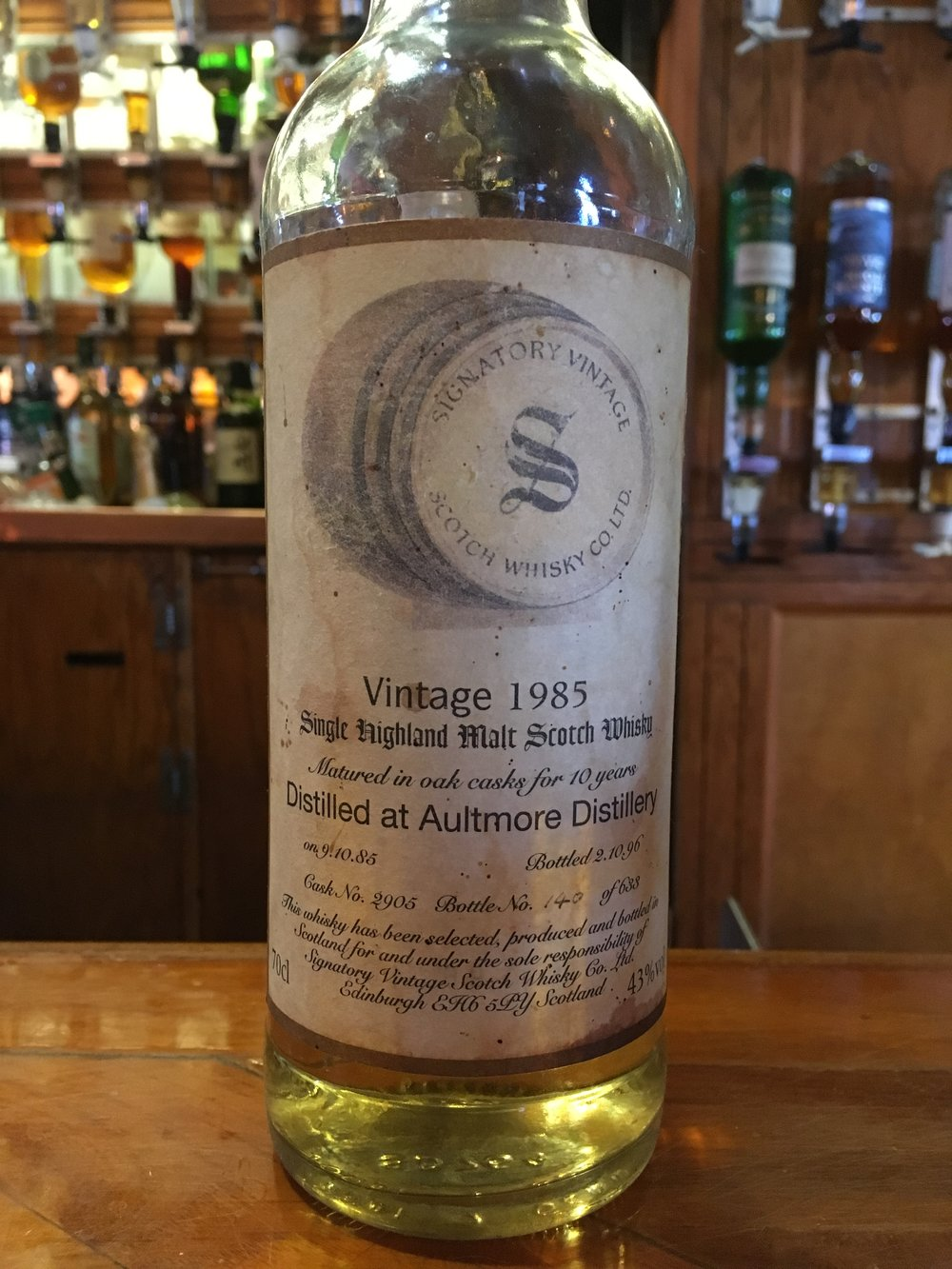 10 Year Old | 43% ABV - Distillery | Aultmore