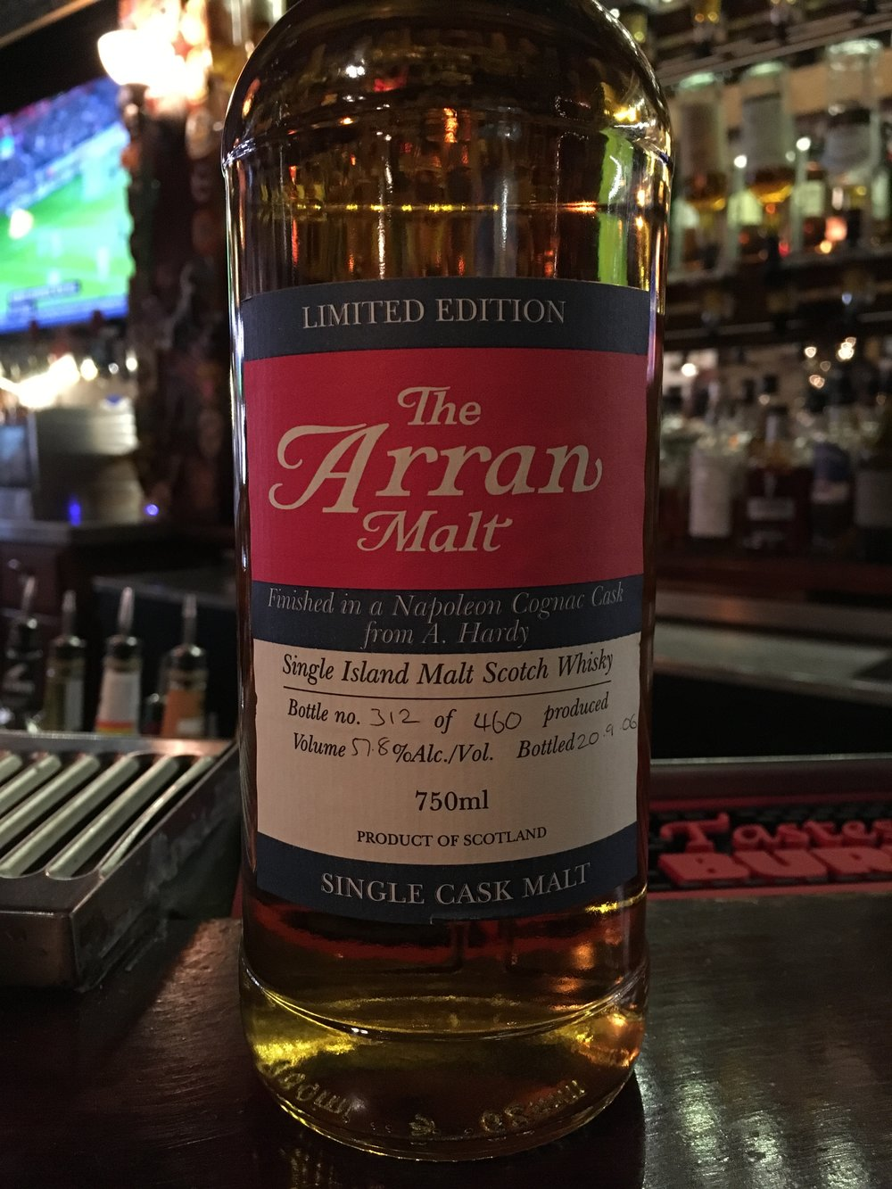 NAS | 57.8% ABV - Distillery | Isle of Arran Distillers
